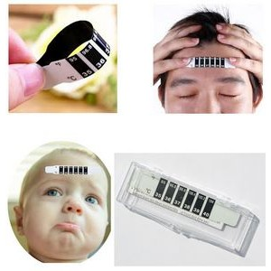 Reusable Forehead Strip Thermometer Kit